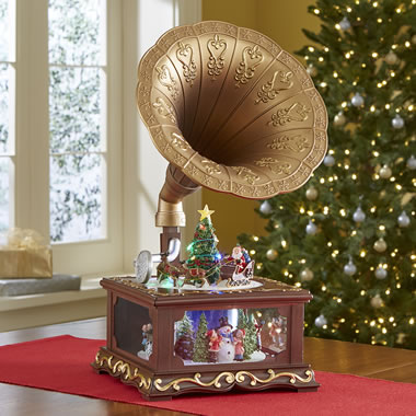 The Animated Christmas Gramophone