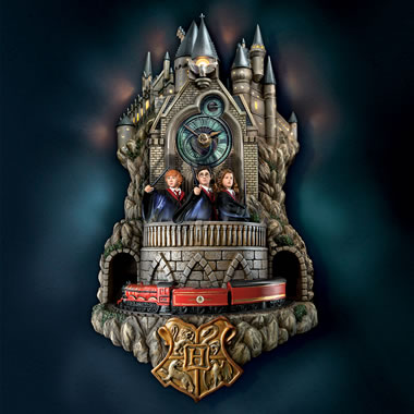 The Harry Potter Wall Clock