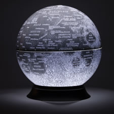 The National Geographic Illuminated Moon Globe