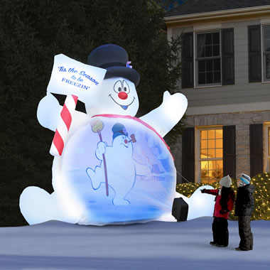 The Video Projecting 10' Frosty The Snowman