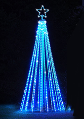 The Choreographed Light Show Tree