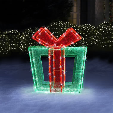 The 4' Twinkling Christmas Present