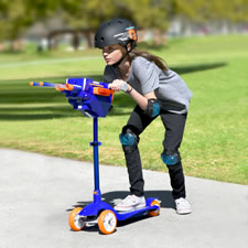 The Nerf Launching Scooter