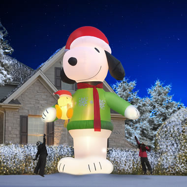 The Colossal 16' Inflatable Snoopy