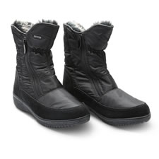 The Lady's Dual Zipper Easy On/Off Boots