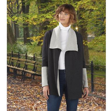 The Merino Wool Reversible Wrap