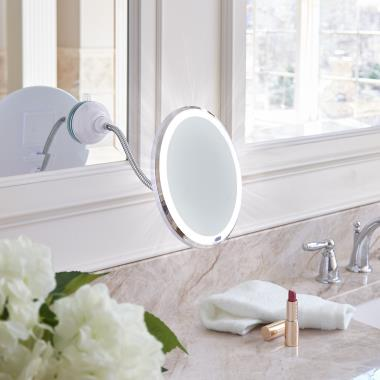 The Attach Anywhere LED Mirror