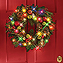 95060 - The Cordless Prelit Ornament Holiday Trim