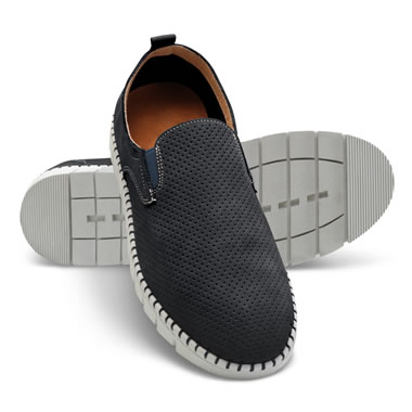 The Breathable Comfort Leather Slip Ons