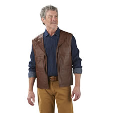 The John Wayne Leather Vest