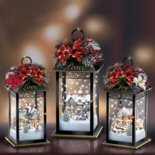 The Thomas Kinkade Sparkling Lanterns