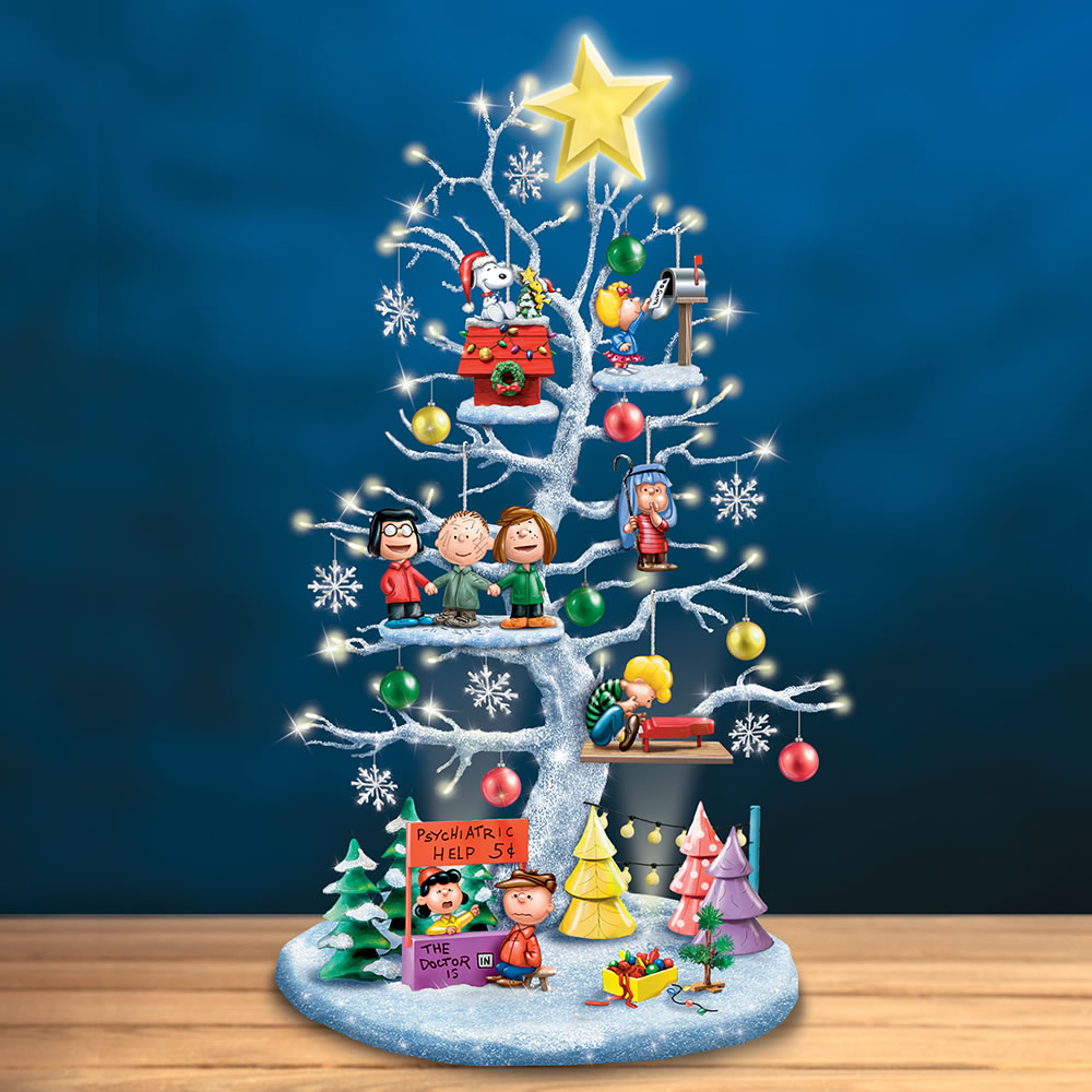 Peanut Christmas Tree: The Peanuts Illuminated Christmas Tree
