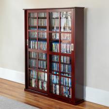 The Aficionado's Sliding Door 1,044 CD/468 DVD Library