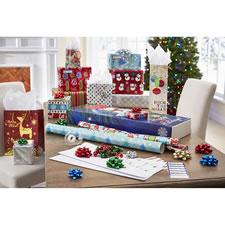 The Elegant Christmas Gift Wrap Ensemble