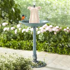 The Cordless Birdbath Fountain