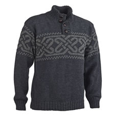 The Genuine Endless Knot Irish Wool Sweater