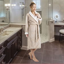 The Luxury Spa Sherpa Bathrobe