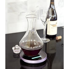 The Perfect First Glass Swirling Decanter