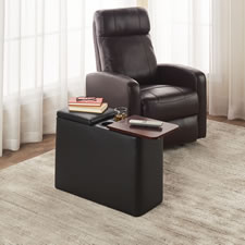 The Easy Access Recliner End Table