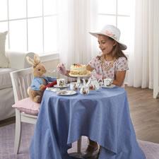 The Heirloom Quality Beatrix Potter Tea Set