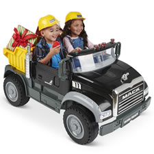 The Two Seat Working Mack Dump Truck