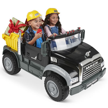 The Two Seat Working Mack Dump Truck