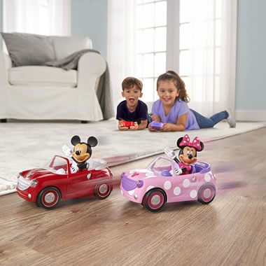 The My First Mickey Or Minnie RC Roadster