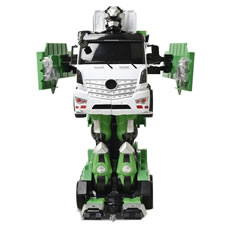 The Voice Activated Transforming Garbage Truck