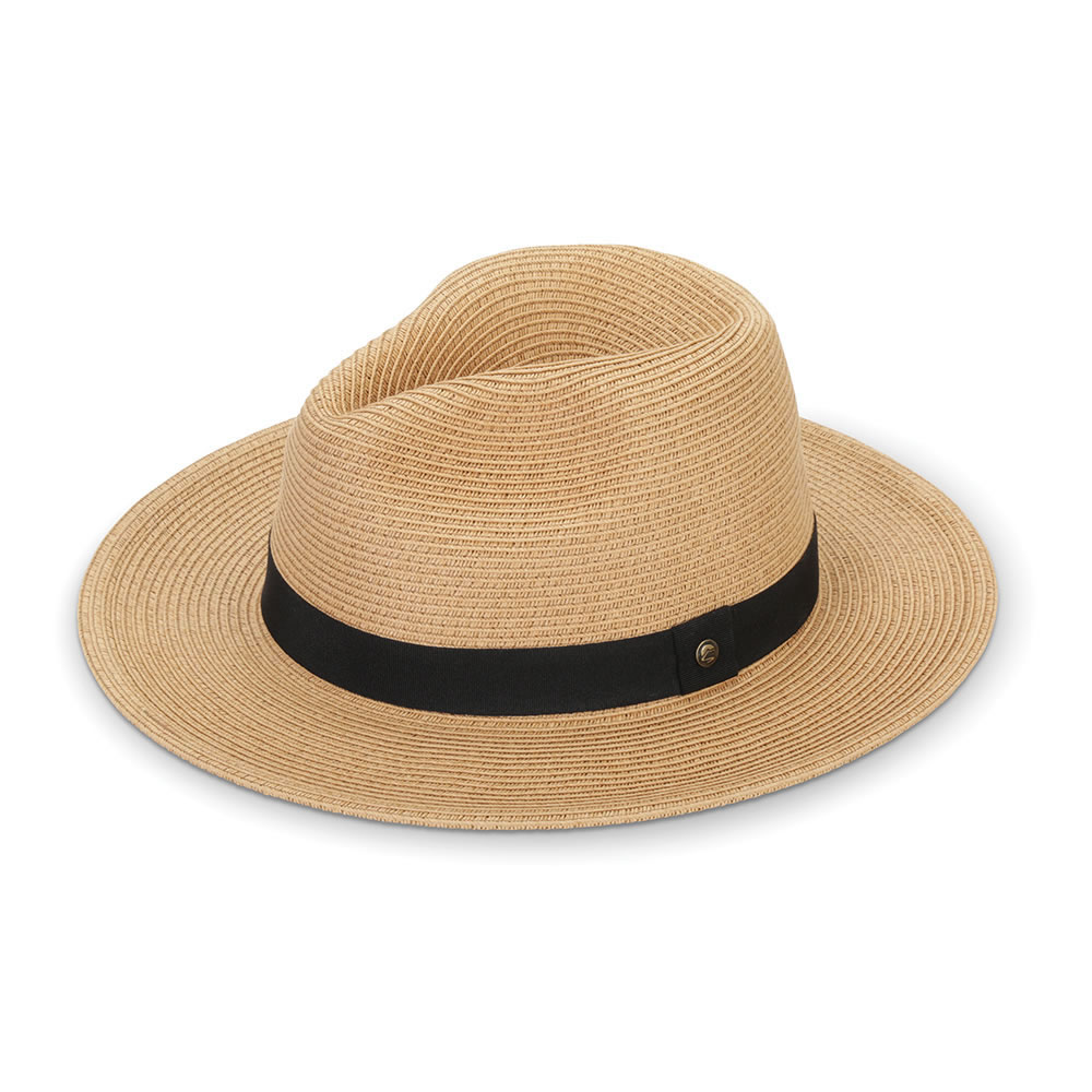 0770179b4c021 The Sun Blocking UPF 50+ Panama Hat - Hammacher Schlemmer