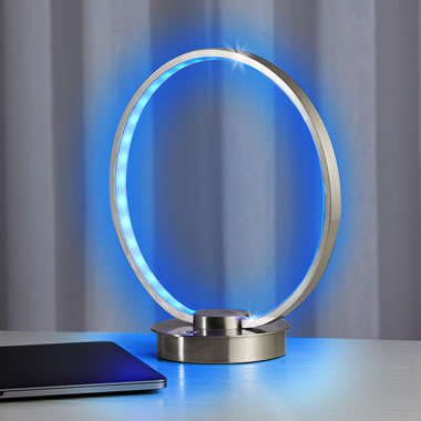 The Color Changing Ring Table Lamp