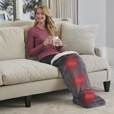 The Leg Warming Foot Massager