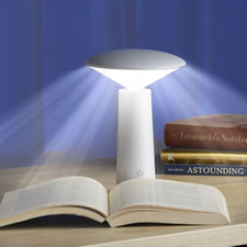 The Cordless Eyestrain Reducing Reading Lamp