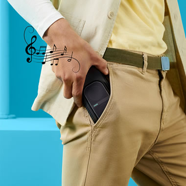 The Expandable Pocket Sized Speaker