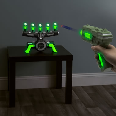 The Glow In The Dark Hovering Target Game