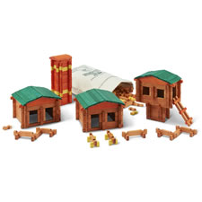 The Traditional Maine Log Building Set