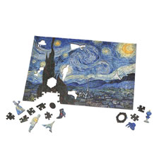 The Van Gogh Wooden Masterpiece Jigsaws