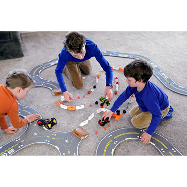 The Build Your Own Car And Course Racetrack