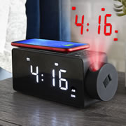 The Projection Clock And Phone Charging Radio