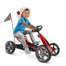 The Ferrari Pedal Kart