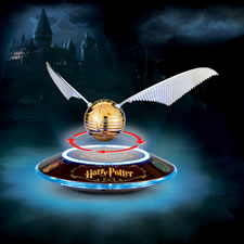 The Harry Potter Levitating Golden Snitch Sculpture