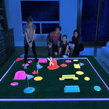 The Glow In The Dark Mini Golf Course