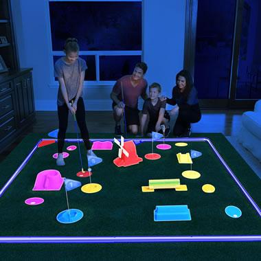 The Glow In The Dark Mini Golf Course