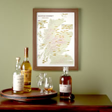 The Scotch Drinker's Accomplishment Map