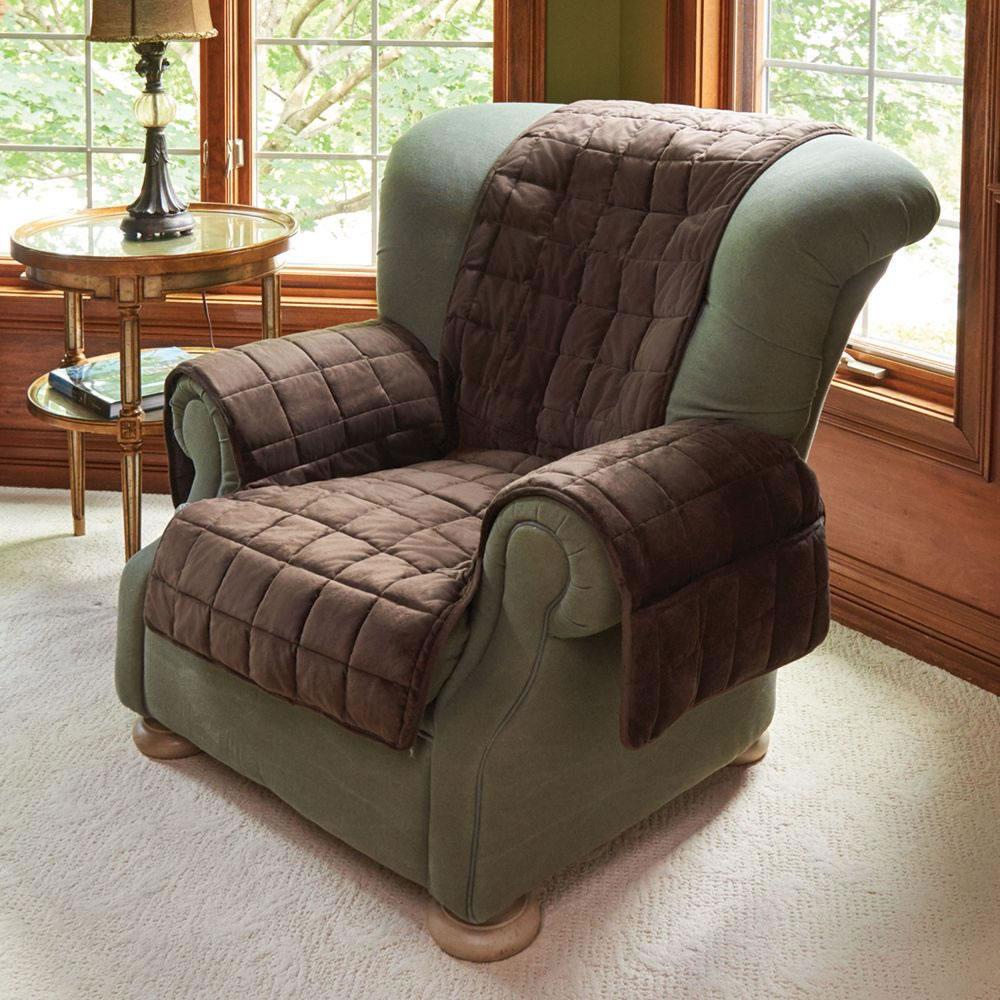 Astounding The Non Slip Furniture Protecting Pet Covers Hammacher Customarchery Wood Chair Design Ideas Customarcherynet