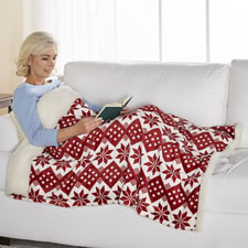 The Fleecy Lined Wearable Blanket