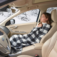 The Heated Fleece Car Blanket