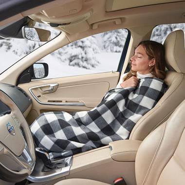 The Heated Fleece Car Blanket
