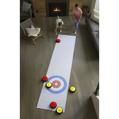 The Indoor Air Propelled Curling Game