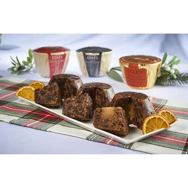 The Classic British Christmas Puddings