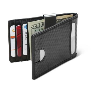 The Ultrathin RFID Carbon Fiber Money Clip Wallet
